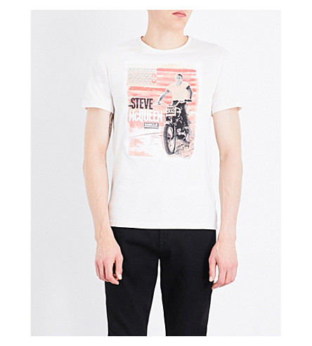 BARBOUR B.Intl. Stars and Stripes cotton-jersey T-shirt (Neutral