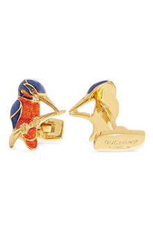 DUCHAMP Kingfisher cufflinks