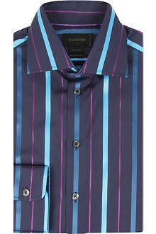 DUCHAMP Galliant tailored-fit stripe shirt