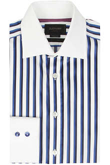 DUCHAMP Twin stripe tailored-fit shirt