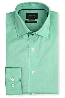 DUCHAMP Tailored-fit single-cuff shirt