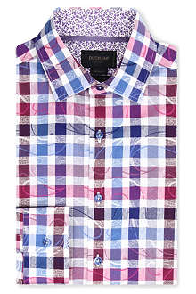 DUCHAMP Jacquard check shirt