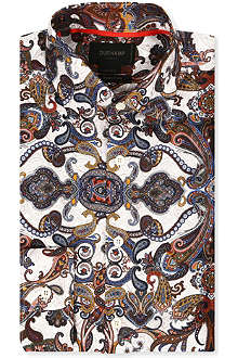 DUCHAMP Silk paisley shirt