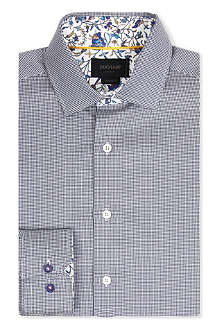 DUCHAMP Puppytooth contrast shirt