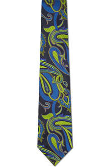 DUCHAMP High paisley silk tie