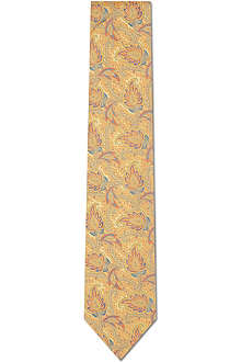 DUCHAMP Traditional Paisley tie