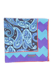 DUCHAMP Eros Paisley pocket square