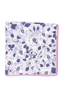 DUCHAMP Oblion Floral pocket square