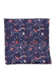DUCHAMP Ornate Orchard pocket square