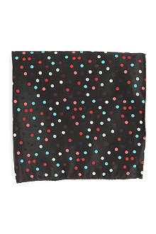 DUCHAMP Moonlight Dot pocket square
