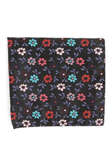 DUCHAMP Burns floral pocket square