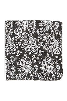 DUCHAMP Byron floral pocket square