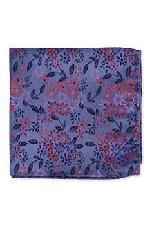 DUCHAMP Floral pocket square