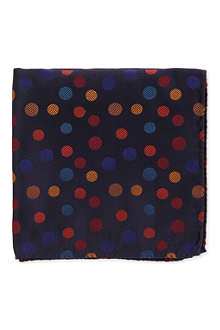 DUCHAMP Random spot pocket square