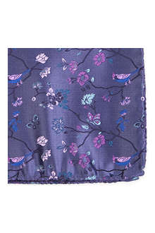 DUCHAMP Garden bird pocket square