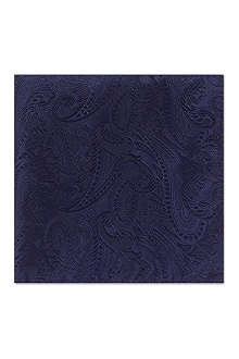 DUCHAMP Graphic paisley pocket square
