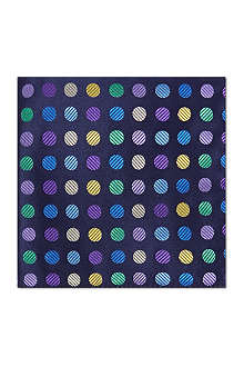 DUCHAMP Dotted pocket square