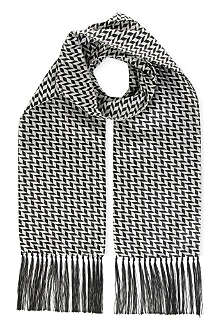 DUCHAMP Block herringbone scarf