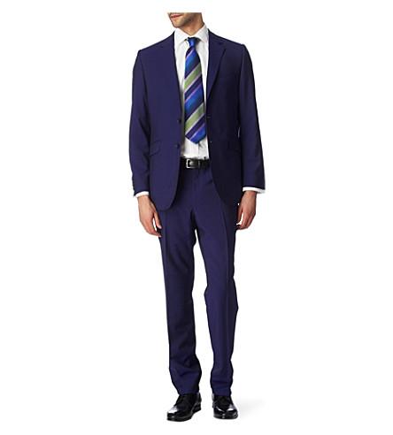 DUCHAMP Plain Mohair suit (Maritime