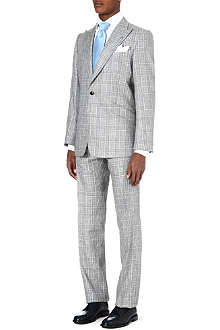 DUCHAMP Houndstooth check suit