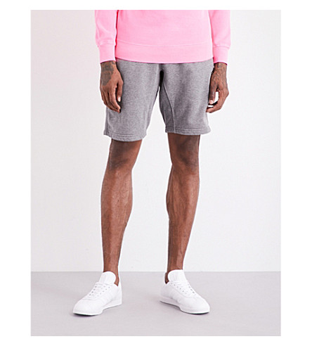 TRUE RELIGION Cotton-jersey shorts (Dk+grey