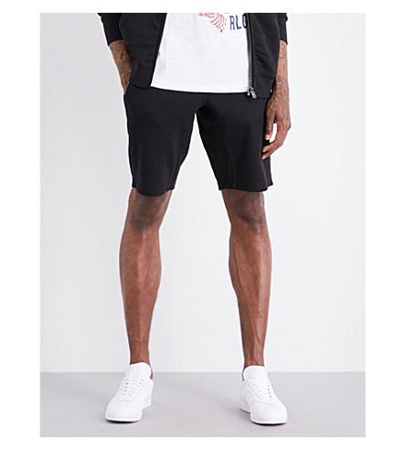 TRUE RELIGION Cotton-jersey shorts (Black