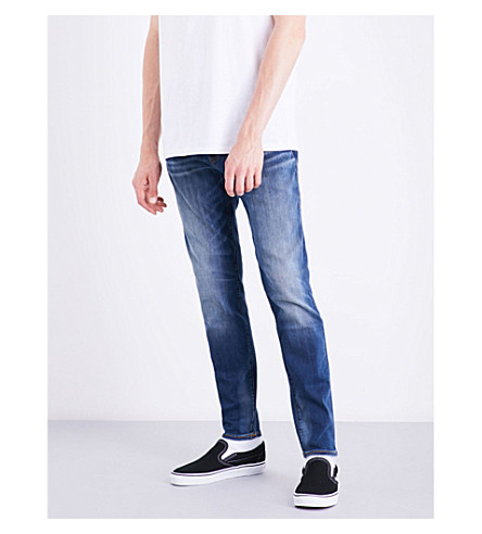 TRUE RELIGION Jack slim-fit tapered jeans (Desert+highway