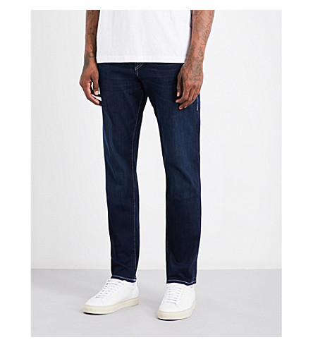 TRUE RELIGION Geno slim-fit relaxed jeans (Dk passage