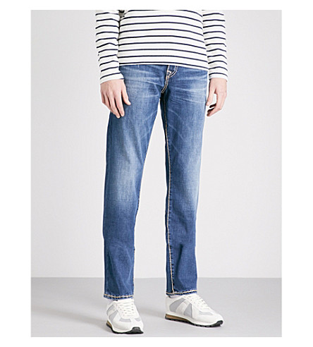 TRUE RELIGION Geno slim-fit relaxed jeans (Eeem+street+vice