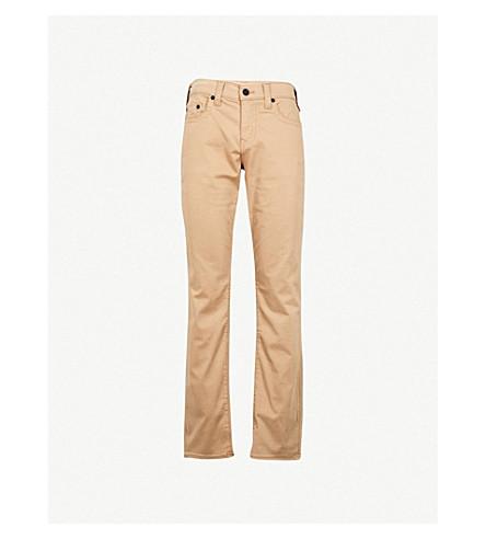 TRUE RELIGION Geno slim-fit twill jeans (Ega+incense