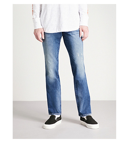 TRUE RELIGION Ricky relaxed-fit slim jeans (Midnight