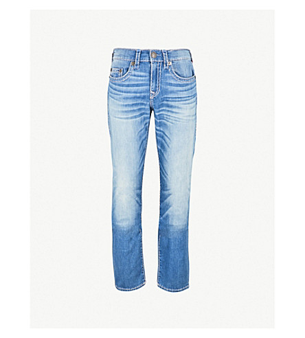 TRUE RELIGION Ricky relaxed-fit slim jeans (Menice