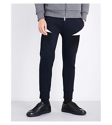 NEIL BARRETT Modernist neoprene track pants (Dnoffblk