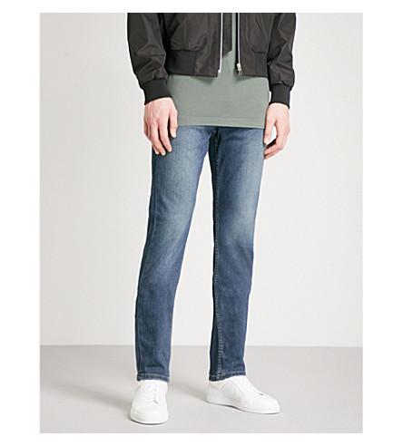 PAIGE Lennox Briggs slim-fit skinny jeans (Dark+blue