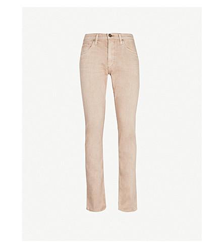 PAIGE Federal slim-fit tapered jeans (Vintage dune