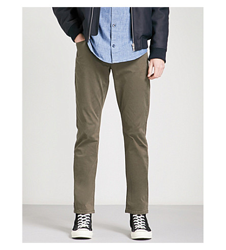 PAIGE Federal slim-fit skinny jeans (Old+guard