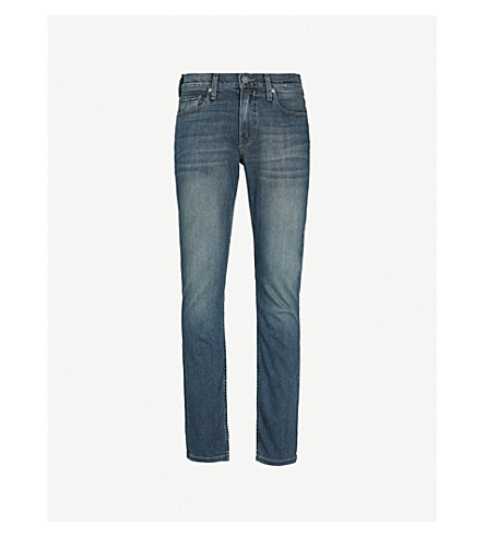 PAIGE Federal slim-fit tapered jeans (Daniels