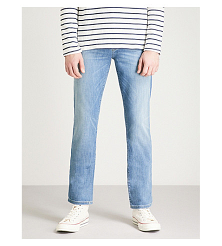 PAIGE Federal slim-fit tapered jeans (Cartwright vintage