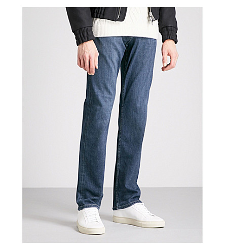PAIGE Normandie slim-fit straight jeans (Benji