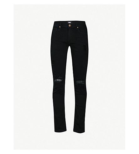 PAIGE Croft skinny jeans (Black