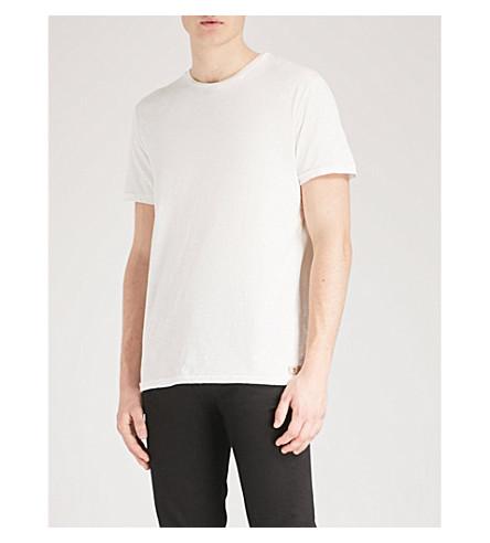 7 FOR ALL MANKIND Slub cotton-jersey T-shirt (White
