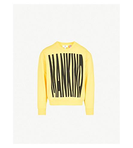 7 FOR ALL MANKIND Logo-print cotton-jersey sweatshirt (Freesia