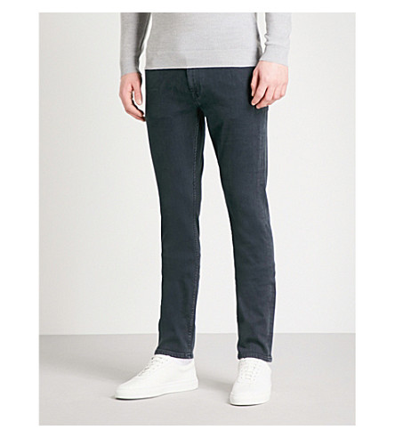 7 FOR ALL MANKIND Ronnie Luxe slim-fit skinny jeans (Rinse+blue