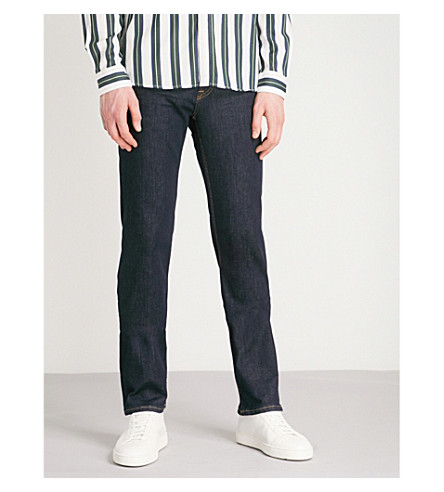 7 FOR ALL MANKIND Standard Luxe Performance Plus regular-fit straight jeans (Rinse+blue