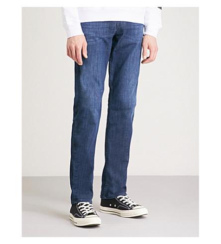 7 FOR ALL MANKIND Standard Weightless regular-fit jeans (Dark+blue