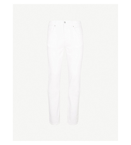 7 FOR ALL MANKIND Slimmy Luxe Performance slim-fit jeans (White