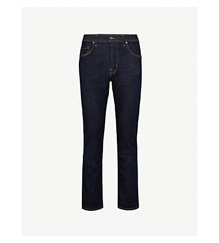 7 FOR ALL MANKIND Kayden relaxed-fit straight-leg jeans (Rinse+blue
