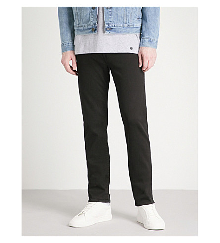 7 FOR ALL MANKIND Kayden Luxe Performance slim-fit skinny jeans (Plus+black