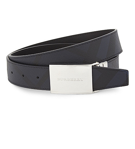 BURBERRY Reversible leather belt (Multi
