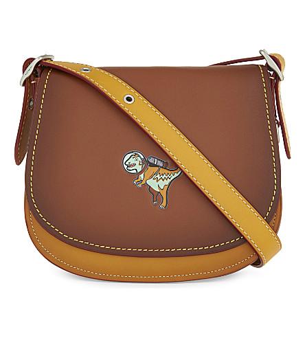 COACH Rexy leather cross-body bag (Saddle